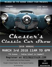 Chester's Classic Car Show 2018