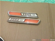emblemas f100 cofre ford 67-72