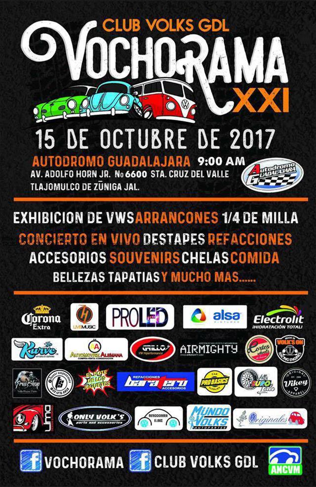 Club Volks GDL Vochorama XXI