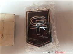 ford mustang gt 1965 a 1966 emblema frontal original nuevo